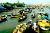 Cai Be Floating Market - Ho Chi Minh