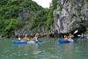 Kayaking in Halong Bay - Quang Ninh