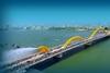 Dragon Bridge at Da nang