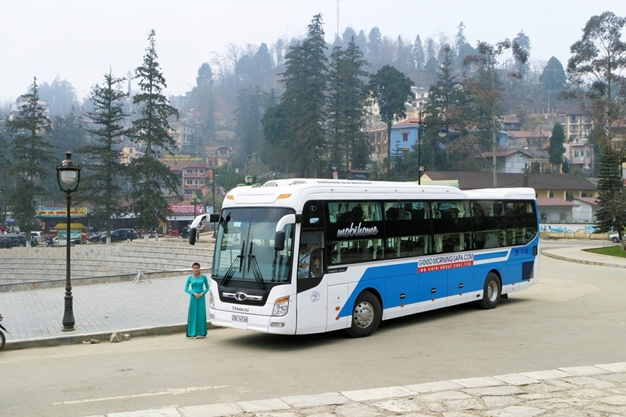 Sapa Bus tour