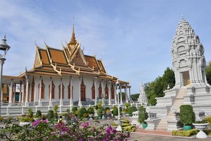 Silver Pagoda - Phnom Penh