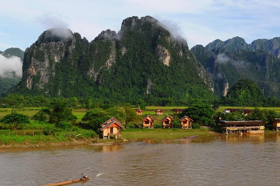 Nam Song River - Vang Vieng