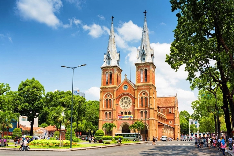 Central Catheral of Ho Chi Minh City