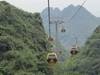 Cable car in Perfume pagoda