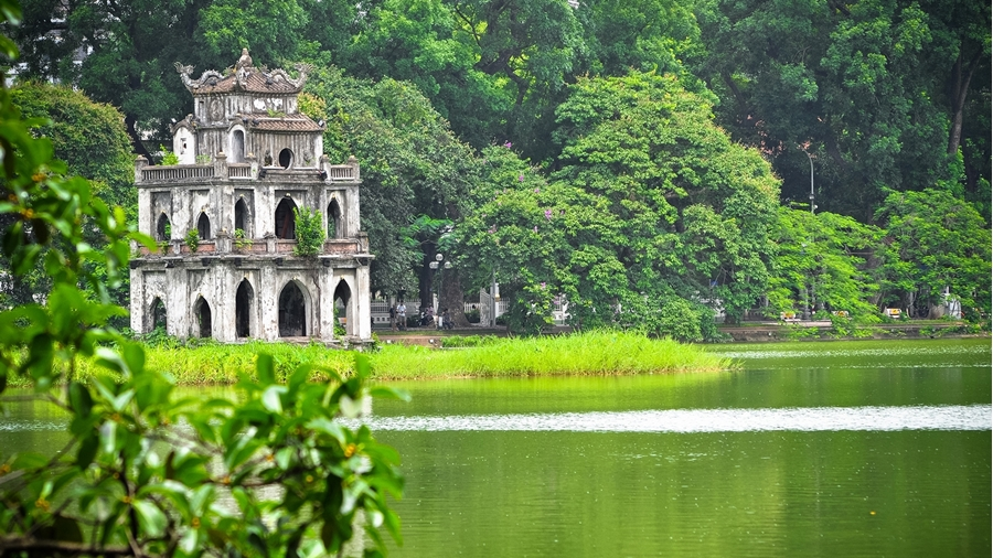 Hoan Kiem Lake of Hanoi