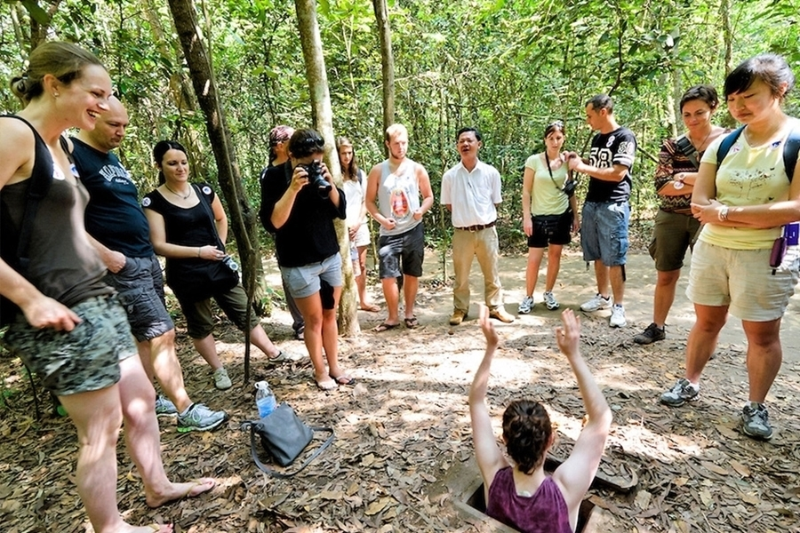 Picture of HCMC - Cu Chi tunnel tour