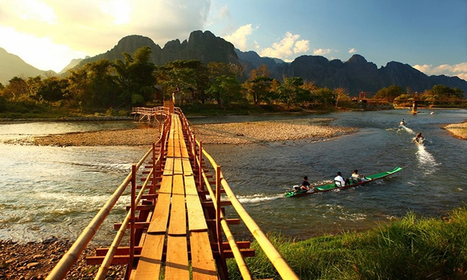 Picture of Vang Vieng, Laos - The Paradise to Discover