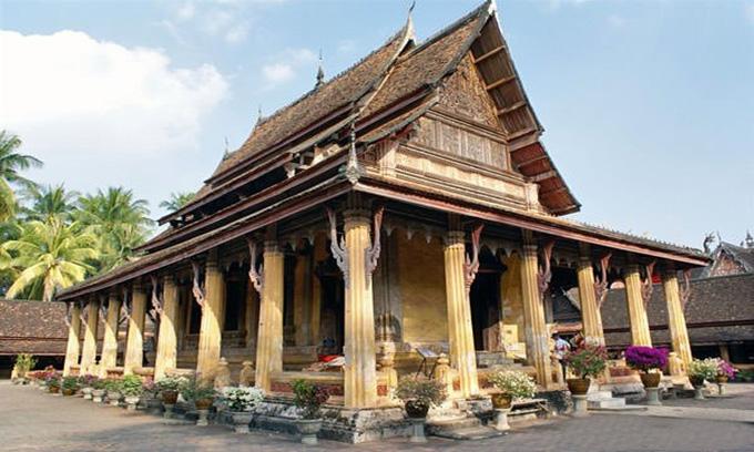 Picture of Wat Sisaket in Vientiane, Laos