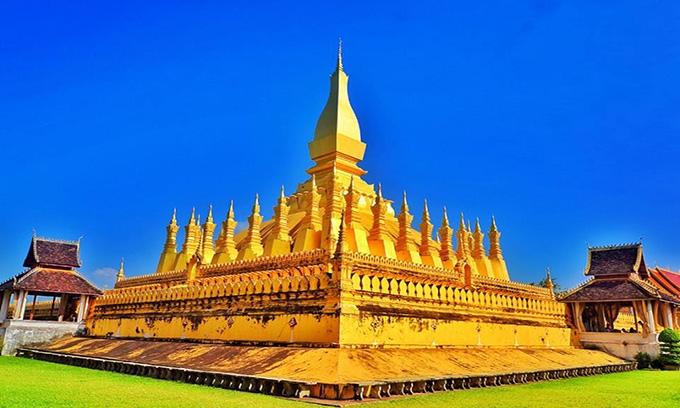 Picture of Pha That Luang - Great golden stupa in Vientiane